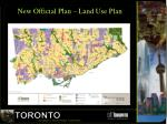 new official plan land use plan