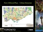 new official plan urban structure