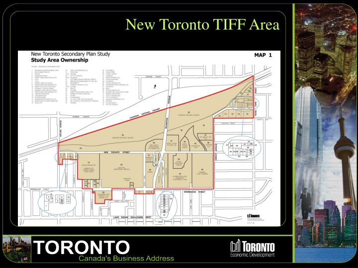 New Toronto TIFF Area