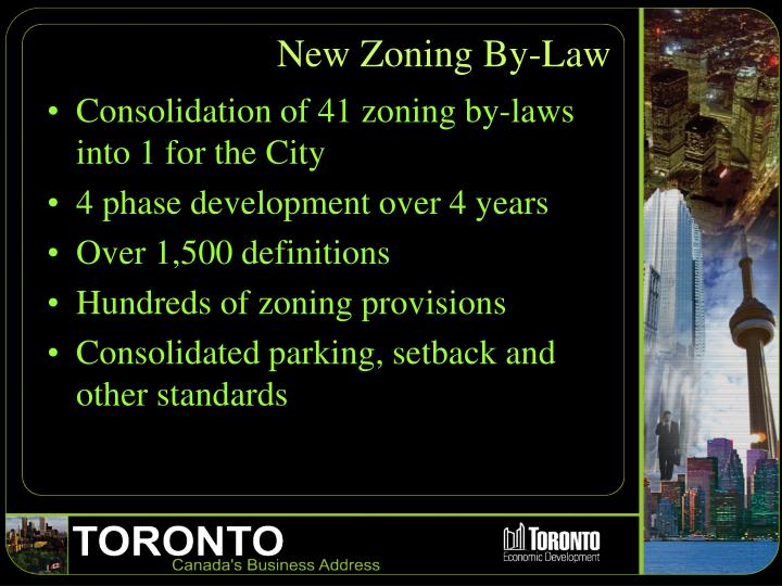 New Zoning By-Law