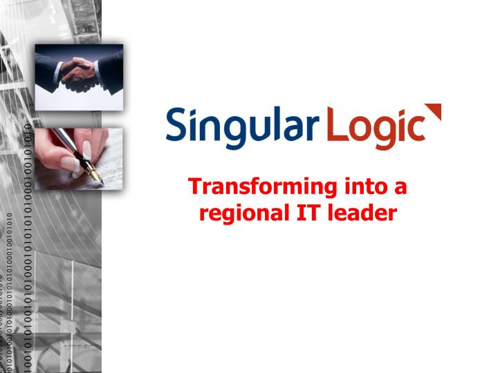 Transforming into a regional IT leader