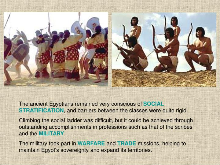 The ancient Egyptians remained very conscious of