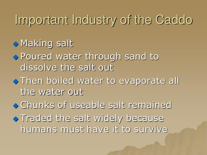 Important Industry of the Caddo