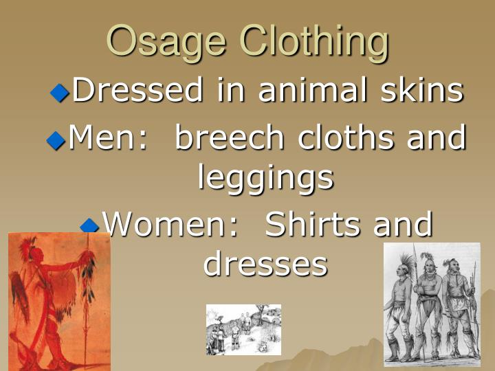 Osage Clothing