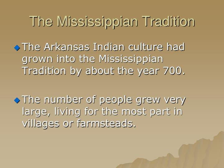 The Mississippian Tradition