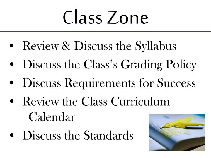 Class Zone