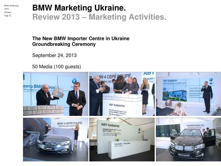 bmw marketing Branding strategy of bmw takes place around the same principles of brand marketing and management bmw is considered one of the leading producers of luxury and.
