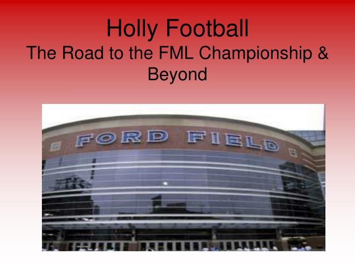 Holly Football