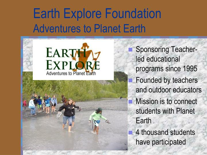 Earth Explore Foundation