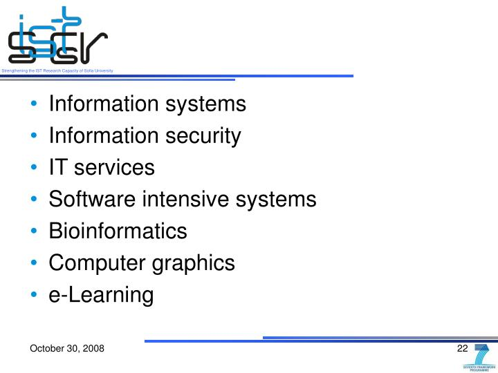 Information systems