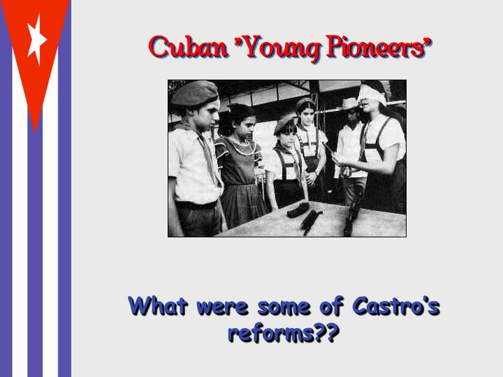 "Cuban ""Young Pioneers"""
