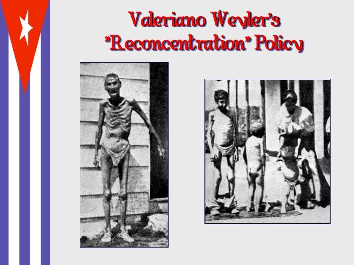 Valeriano Weyler's