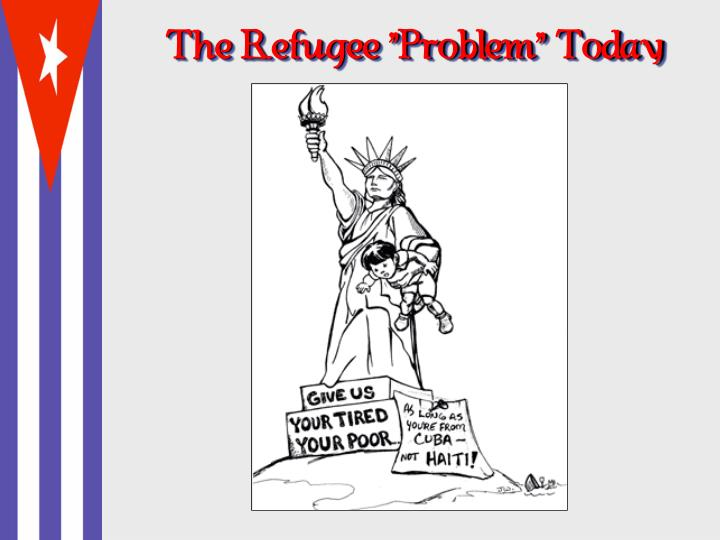"The Refugee ""Problem"" Today"