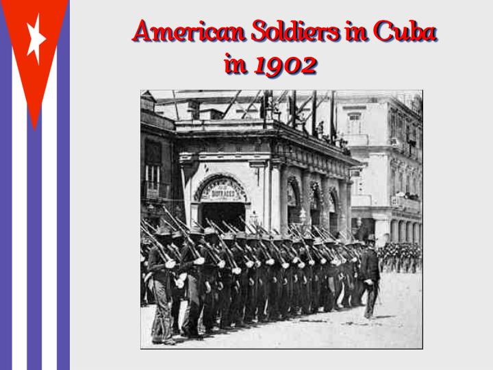 American Soldiers in Cuba
