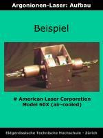 argonionen laser aufbau