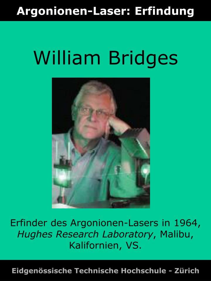Argonionen-Laser: Erfindung