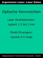 argonionen laser laser daten2