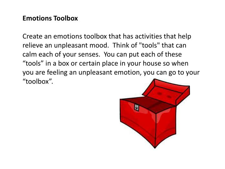 Emotions Toolbox