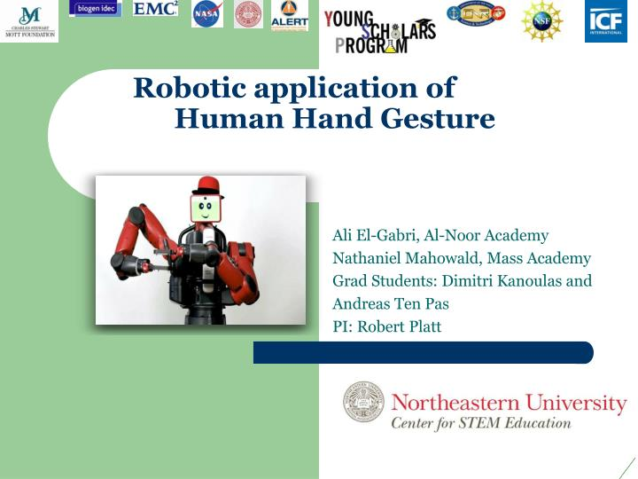 Robotic application of