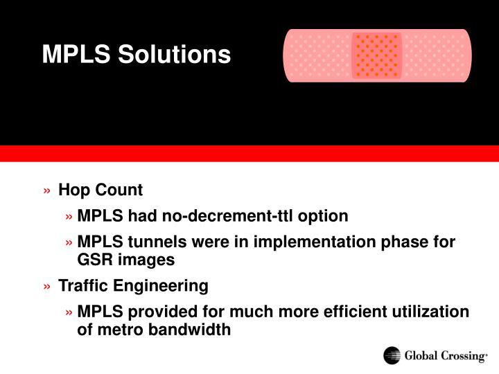MPLS Solutions