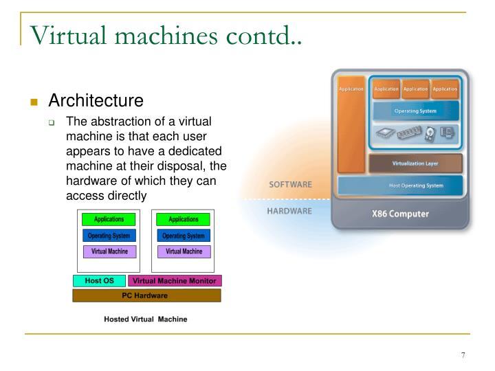 Virtual machines contd..