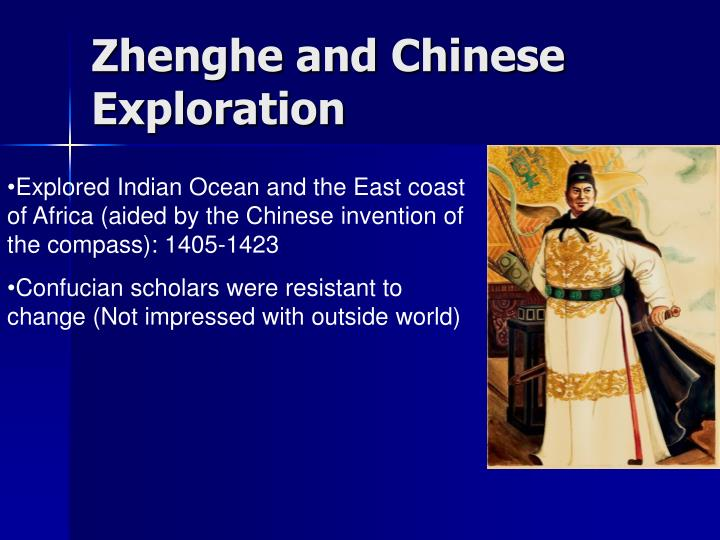 Zhenghe and Chinese Exploration
