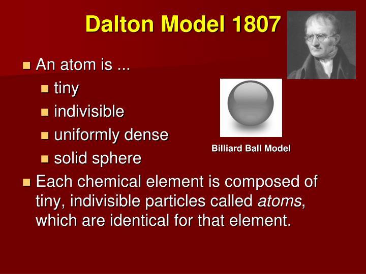 Dalton Model 1807