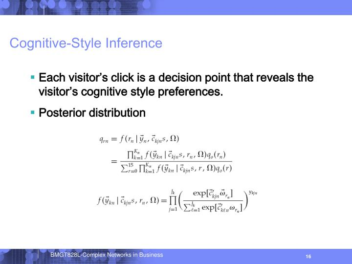Cognitive-Style Inference