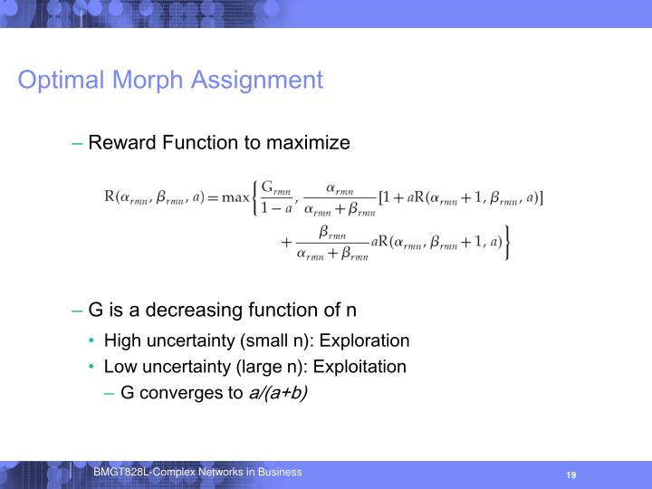 Optimal Morph Assignment