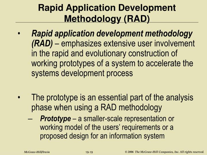 Rapid Application Development (RAD) Software