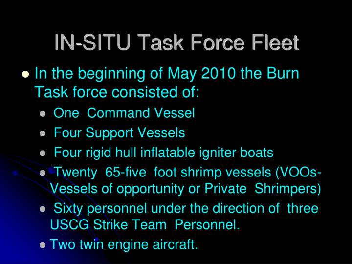 IN-SITU Task Force Fleet