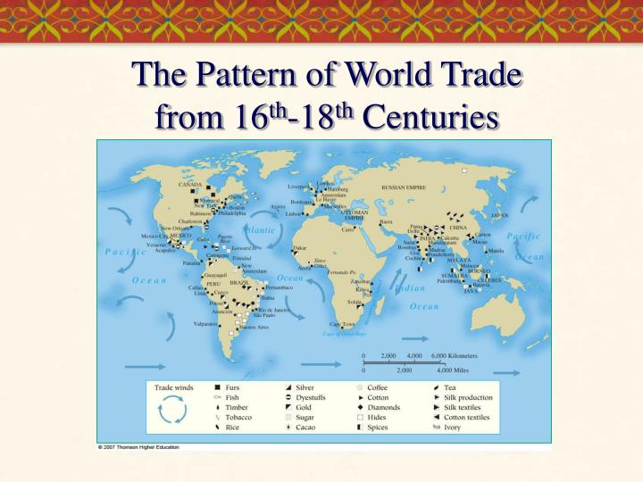 The Pattern of World Trade