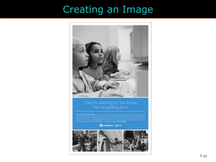 Creating an Image