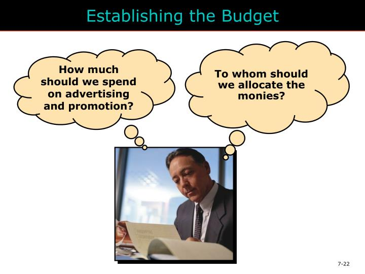Establishing the Budget