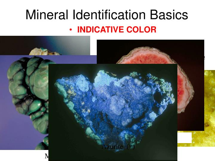 Mineral identification basics1
