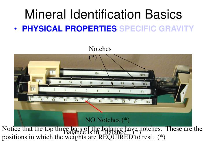 Mineral Identification Basics