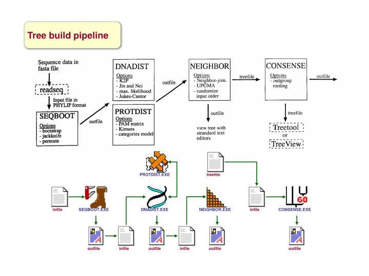 Tree build pipeline