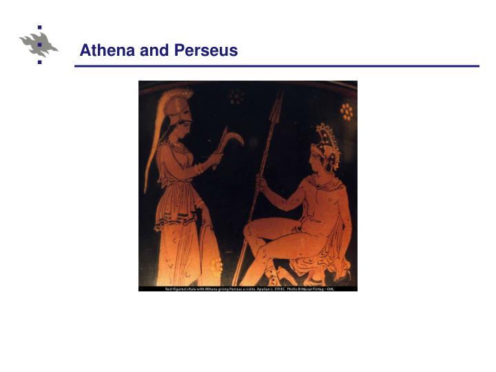 Athena and Perseus