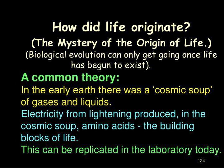 Modern Theories
