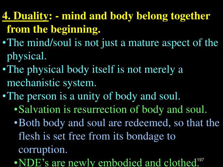 4. Duality