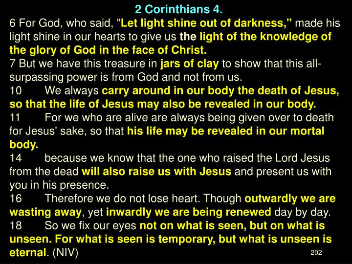 2 Corinthians 4