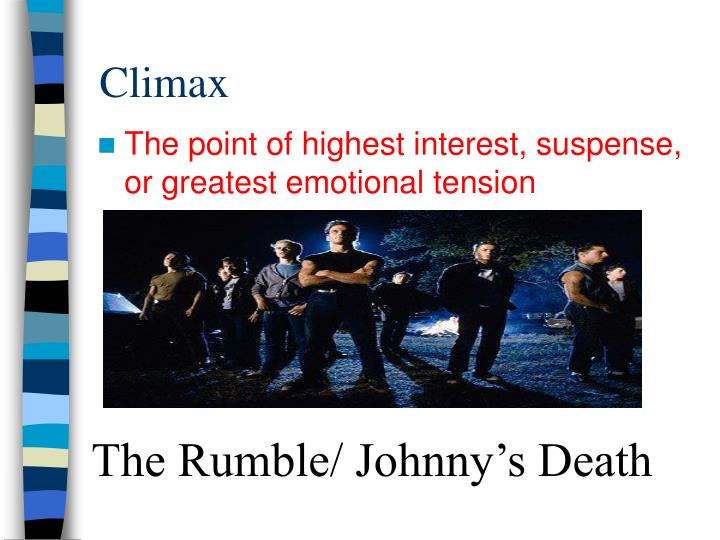 The Rumble/ Johnny's Death