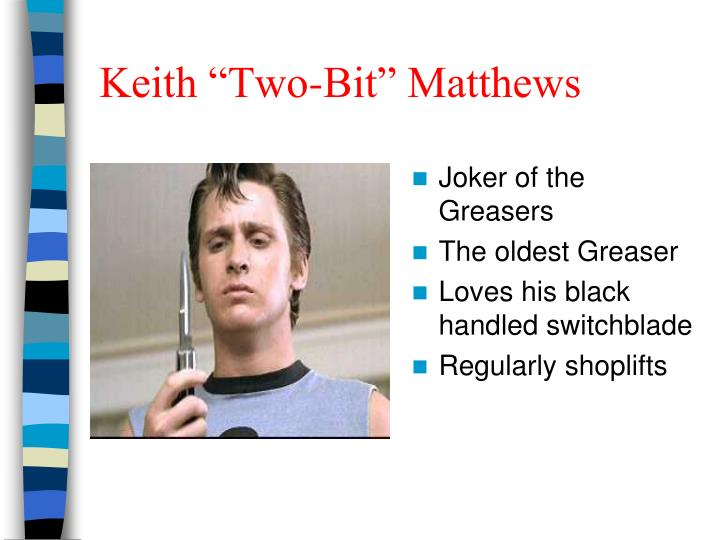 "Keith ""Two-Bit"" Matthews"