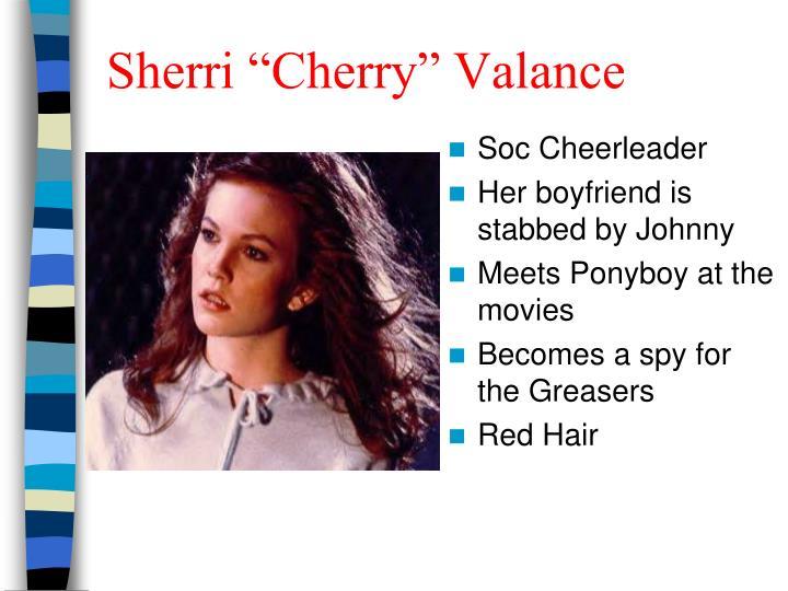 """Sherri """"Cherry"""" Valance"""