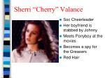 sherri cherry valance