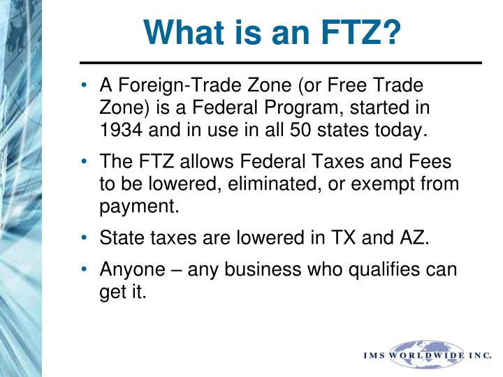 What is an ftz