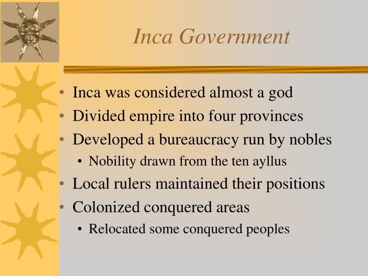 Inca Government