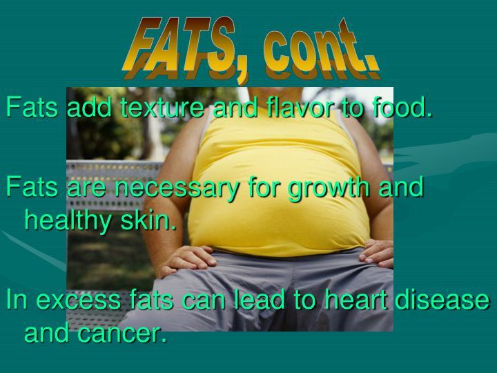 FATS, cont.
