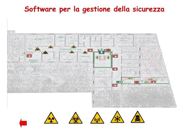 Software per la gestione della sicurezza