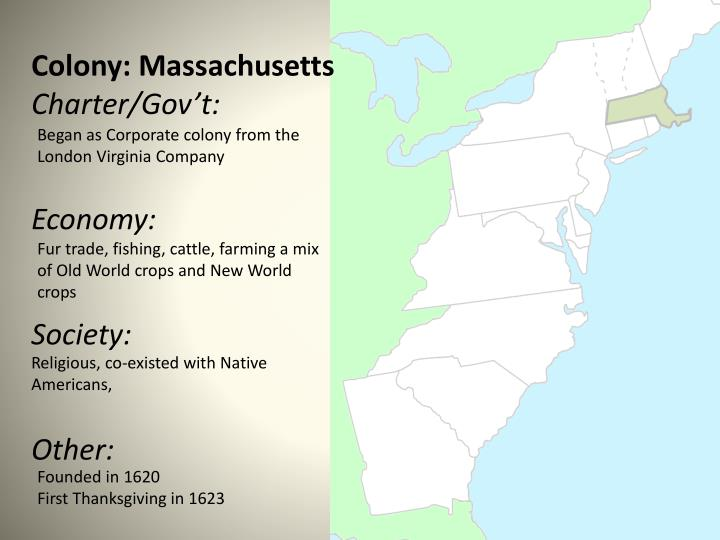 Colony: Massachusetts